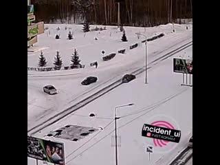 ДТП на выезде из города на ЛПК трассу