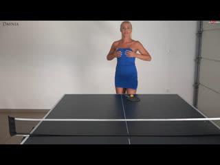 Daynia - die verfickte pingpong wette! spiel, satz, (arsch)ficken! bis nicht nur die loecher gluehen