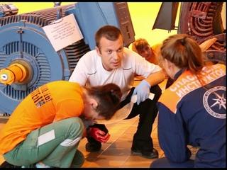 Экзамен у добровольцев-спасателей 6 волны Коряжма