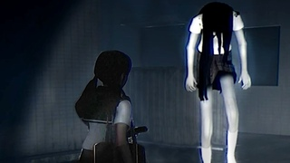 A Tall Ghost Girl Won't Let You Go Home.. Japanese Horror Game By Chilla's Art - The Night Way Home