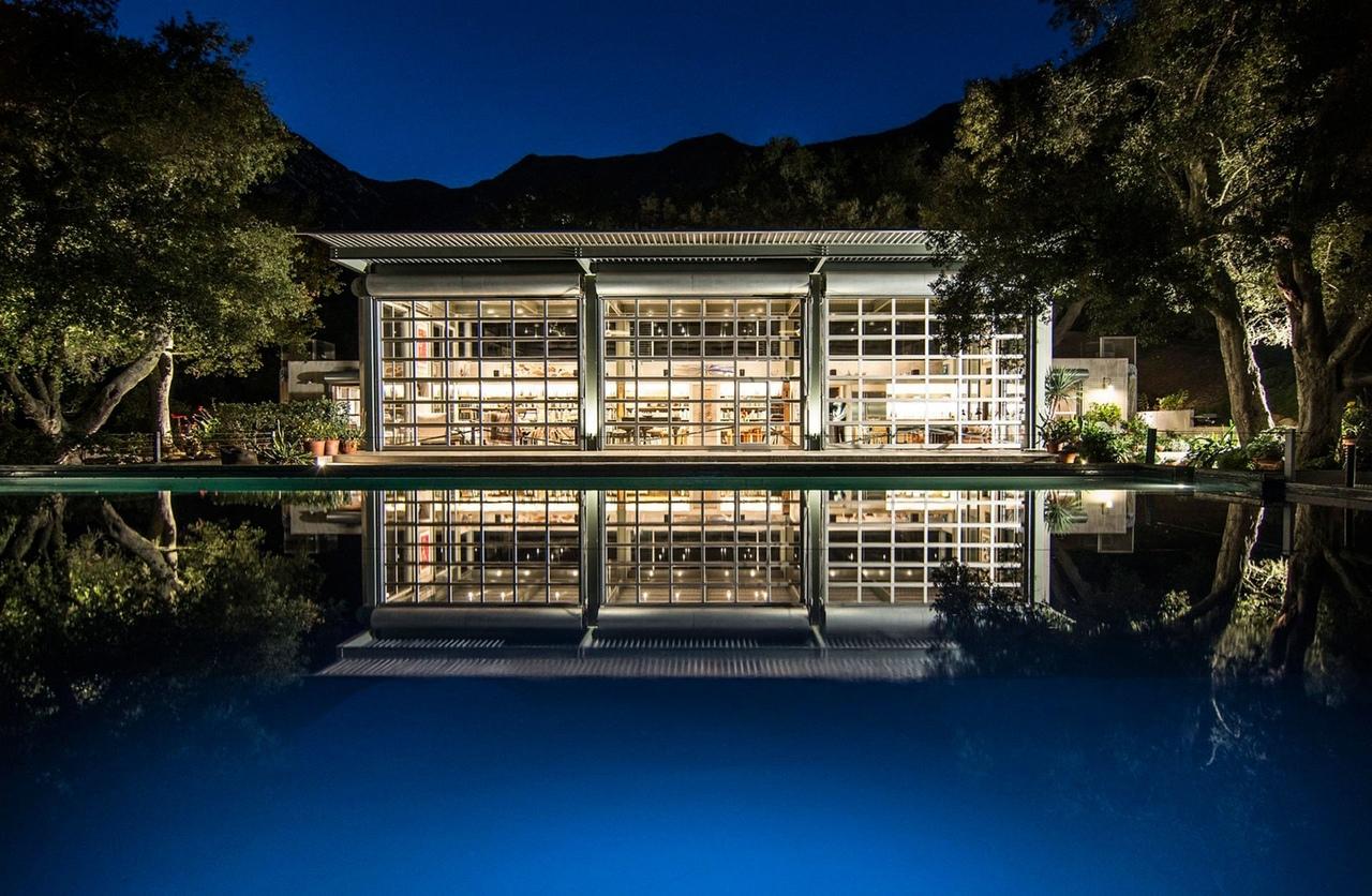 Дом архитектора Бартона Майерса в Санта-Барбаре