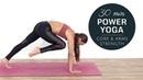 Power Yoga Workout [ Burn Belly Fat ] Core Upper Body Strength