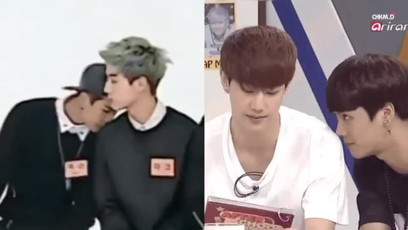 Jackson loves Mark's smell this I don't have a doubt Markson Jark