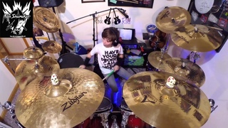 "Alex Shumaker drum cover, The Outfield ""Your Love"""