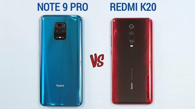 Redmi Note 9 Pro vs Redmi K20 Speed Test Camera Comparson
