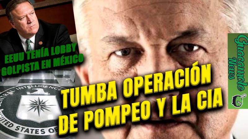 Cae en México firma que quitó presidentes en Honduras y Bolivia AMLO exige a Pompeo explicaciones