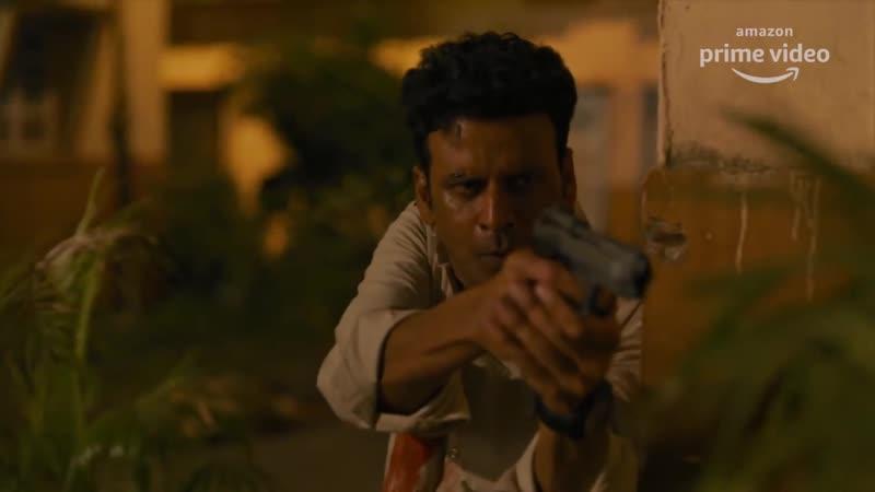 The Family Man Season 2 Official Teaser 4K Raj DK Manoj Bajpayee Samantha Amazon Original