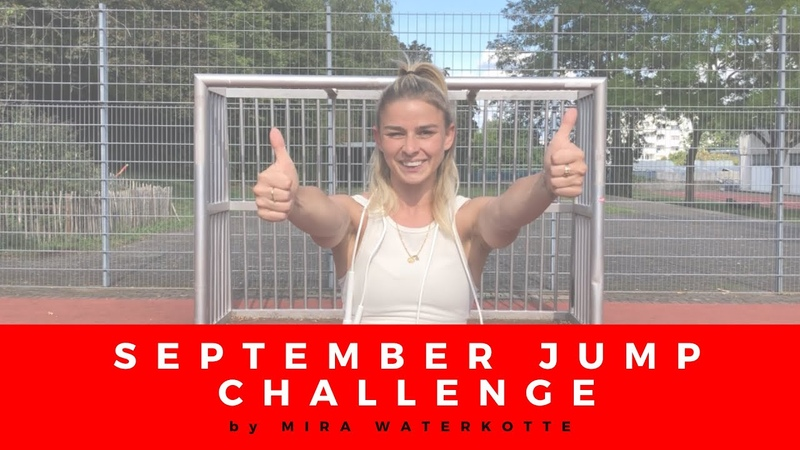 💥 It's time for SEPTEMBER JUMP CHALLENGE everyone 💥