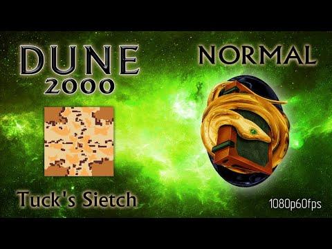 Dune 2000 Skirmish Tuck's Sietch Ordos Normal 1080p60fps