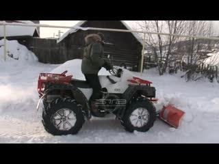 Приручил «Одинокого волка» и превратил в трактор. Житель Златоуста собрал квадроцикл своими руками