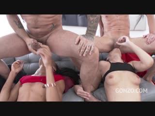Angie moon vs nikki darling, group sex orgy anal porno