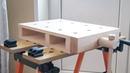 Настольный мини верстак тиски. Обзор конструкции DIY on top mini workbench wise