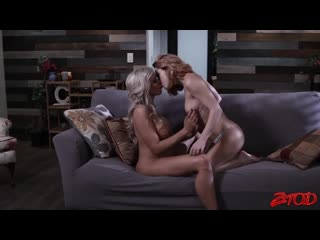 Nina Elle And Carter Cruise - Mouth Watering Lesbian Sex [Lesbian]