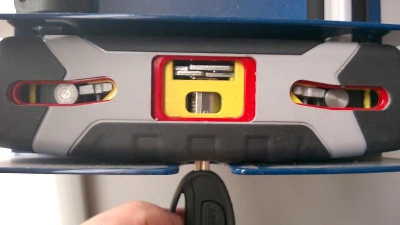 ABUS 540 Granit X Plus механізм всередині