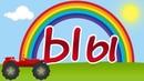 Развивающий мультик для детей, алфавит с машинкой, буква Ы