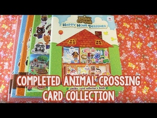 COMPLETED ANIMAL CROSSING AMIIBO CARD COLLECTION