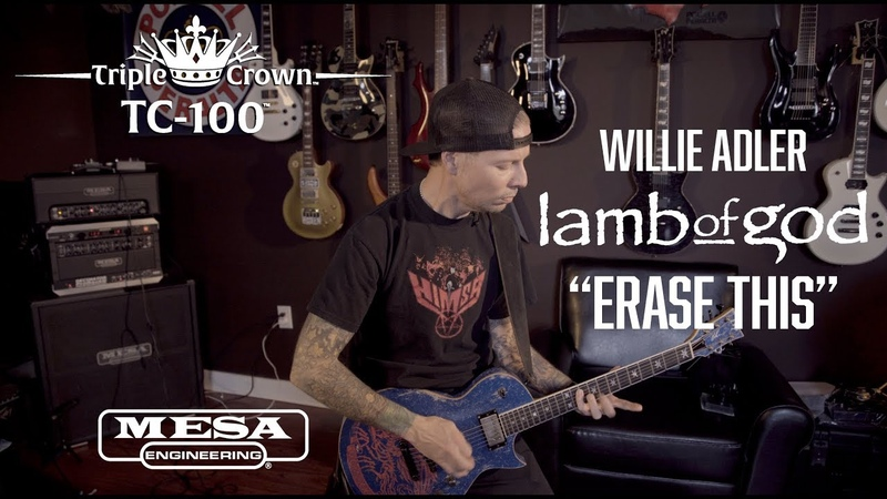 "Tone Sessions Willie Adler – Triple Crown™ TC-100™ – ""Erase This"" Playthrough"
