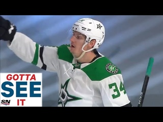 GOTTA SEE IT: Denis Gurianov Records Hat Trick In Second Period As Stars Explode Offensively