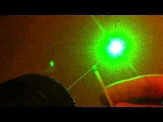 Мощный зелёный лазер SD_laser 304 10000mw green часть_2